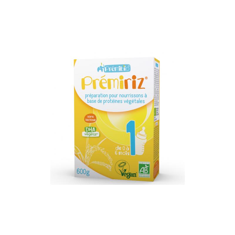 Prémibio Prémiriz Stage 1 Infant Formula 0 - 6 months 600g