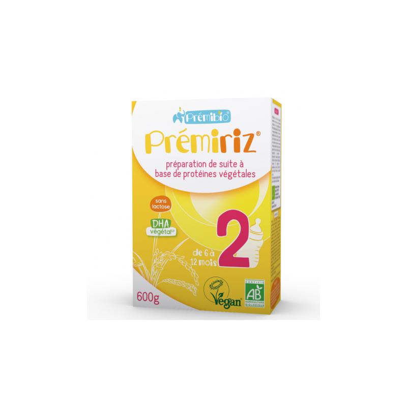 Prémibio Prémiriz Stage 2 Infant Formula 6 -12 months 600g