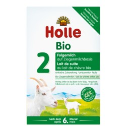 Holle Organic Goat Milk Follow-on Formula 2